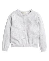 H&M | White Cotton Cardigan | Lyst