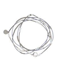 H&M | Metallic 5-pack Elastic Bracelets | Lyst