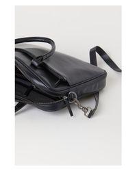 H&M - Black Shoulder Bag - Lyst