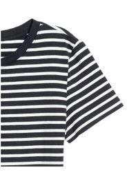 H&M - Blue Jersey Dress - Lyst