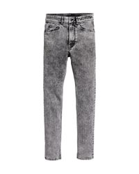 H&M | Gray Skinny Regular Jeans for Men | Lyst
