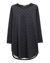 H&M - Black + Jersey Tunic - Lyst