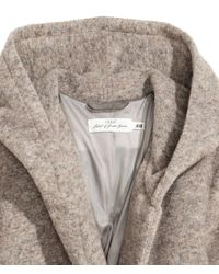 H&M - Natural Wool-blend Coat - Lyst