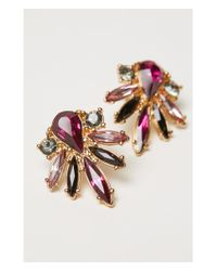 H&M - Multicolor Sparkly Earrings - Lyst