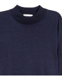 H&M - Blue Fine-knit Jumper - Lyst