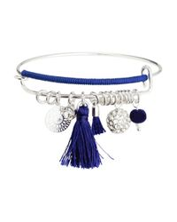 H&M - Blue Bangle - Lyst