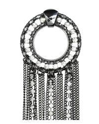 H&M - Gray Large Earrings - Lyst