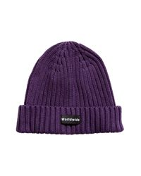 H&M - Purple Rib-knit Hat for Men - Lyst