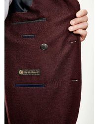 Hackett - Multicolor Wool Cashmere Textured Blazer for Men - Lyst