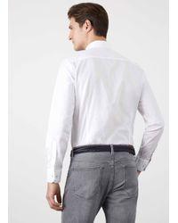 Hackett - White Oxford Shirt for Men - Lyst