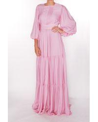 ROKSANDA - Aubert Dress In Pale Pink - Lyst
