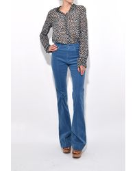 Dorothee Schumacher - Blue Casual Coziness Pants In Dramatic Dusk - Lyst
