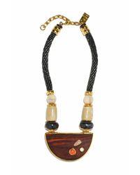 Lizzie Fortunato - Metallic Noble Surfer Ii Necklace - Lyst