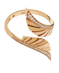Chateau Euphorie - White Secret Garden Pav Diamond Ring - Lyst