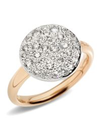 Pomellato - Metallic Sabbia Black Diamond Ring - Lyst