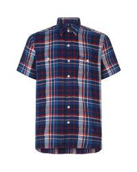 Polo Ralph Lauren - Blue Checkcotton Shirt for Men - Lyst