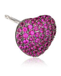 Theo Fennell - Purple Ruby 'art Earrings - Lyst
