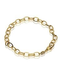 Theo Fennell - Metallic Yellow Gold Outline Link Bracelet - Lyst