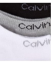 Calvin Klein | Black Coolmax Liner Sock (pack Of 3) for Men | Lyst