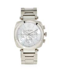 Links of London - Metallic Brompton Chronograph Bracelet Watch for Men - Lyst
