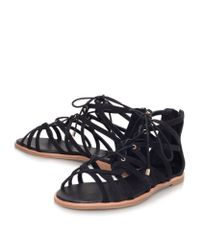 KG by Kurt Geiger - Black Maisy Gladiator Sandals - Lyst