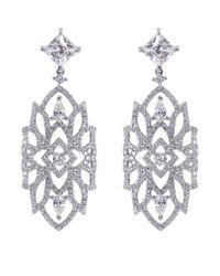 Carat* | Metallic Willa Heroines Chandelier Earrings | Lyst