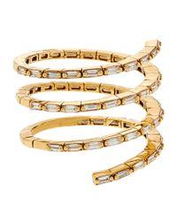 Suzanne Kalan - White Diamond Spiral Ring - Lyst