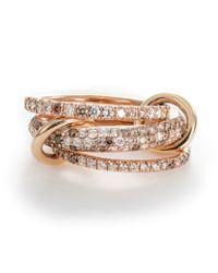Spinelli Kilcollin   Metallic Nova Rose Ring   Lyst