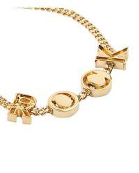Chloé - Metallic Rock Charm Bracelet - Lyst