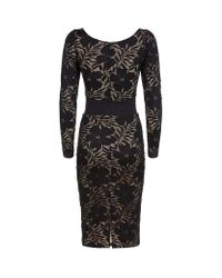 Agent Provocateur - Audrey Black Icon Dress - Lyst