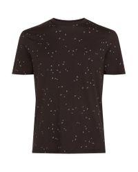 Armani Jeans   Black Mini Eagle Logo T-shirt for Men   Lyst