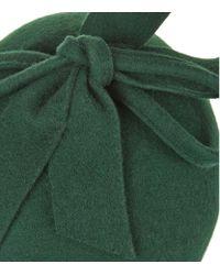 Peter Bettley - Green Pillbox Bow Hat - Lyst