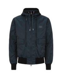Dolce & Gabbana - Blue Zip Front Jacket for Men - Lyst