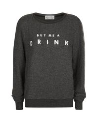 Wildfox | Multicolor Buy Me A Drink Sweatshirt | Lyst