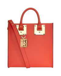 Sophie Hulme | Red Square Albion Tote Bag | Lyst