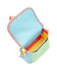 Sophia Webster | Multicolor Claudie Tassel Woven Leather Crossbody Bag | Lyst