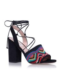 Valentino   Blue Native Couture Sandals   Lyst