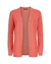 Harrods | Multicolor Embellished Cashmere Cardigan | Lyst