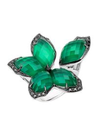 Stephen Webster | Green Loves Me Not Crystal Haze Ring | Lyst
