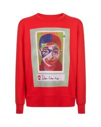 Vivienne Westwood - Red Boy Print Sweater for Men - Lyst