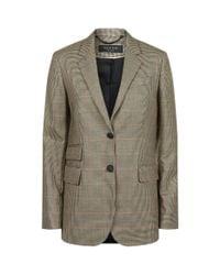 Rag & Bone - Natural Rona Check Blazer for Men - Lyst