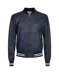 Dolce & Gabbana - Blue Mesh Blouson Jacket for Men - Lyst