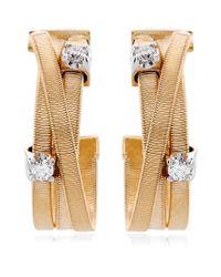 Marco Bicego - Yellow Goa Strand Diamond Earrings - Lyst