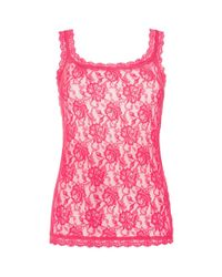 Hanky Panky - Pink Signature Lace Camisole 1390l - Lyst
