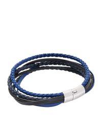 Tateossian - Black Cobra Braclet And Cufflink Gift Set for Men - Lyst