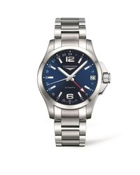 Longines | Blue Conquest Bracelet Watch for Men | Lyst