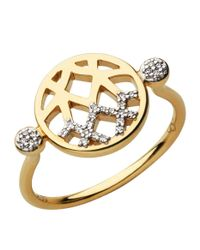 Links of London | Metallic Timeless Gold Ring | Lyst