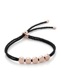 Monica Vinader | Multicolor Linear Bead Friendship Bracelet | Lyst