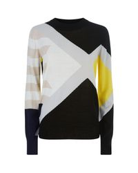 Public School - Multicolor Crew Neck Jumper - Lyst