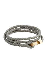 Miansai - Gray Ipsum Rope Bracelet - Lyst